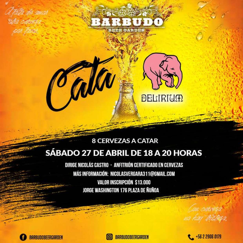 Cata Delirium - 8 Cervezas a Catar